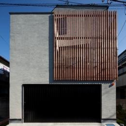 奥沢の住宅 (外観)
