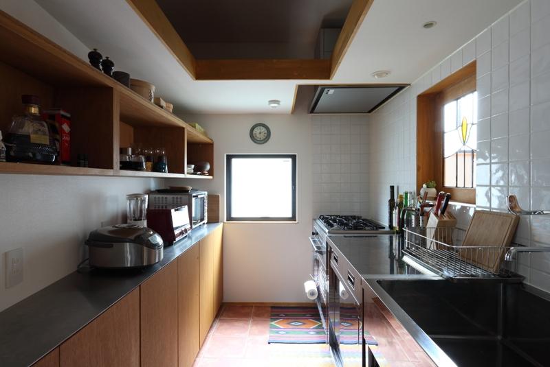 奥沢の住宅 (キッチン)
