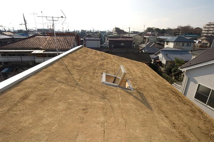 デザイナー:株式会社グリーンラッシュ/岩田充弘「傾斜屋根の屋上緑化」