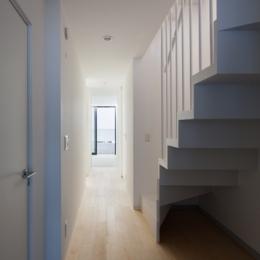 深沢の住宅 (玄関)