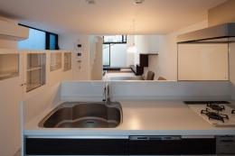 深沢の住宅 (キッチン)
