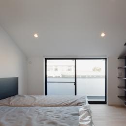 深沢の住宅 (ベッドルーム)