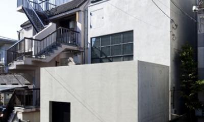 渋谷の住宅 (外観)