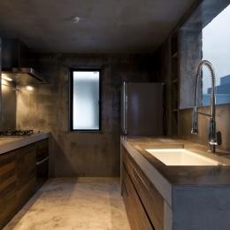 渋谷の住宅-キッチン