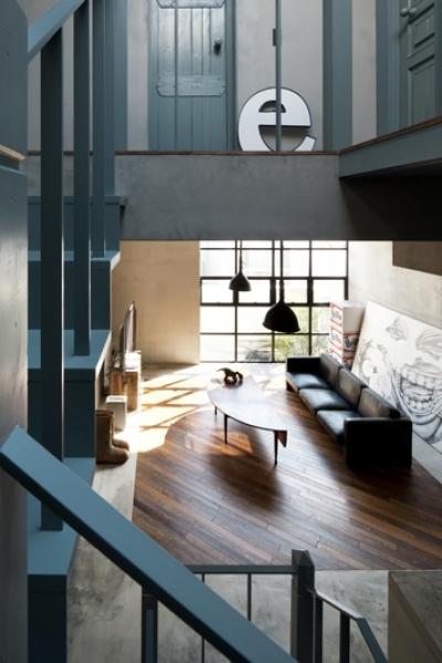 渋谷の住宅 (リビング3)
