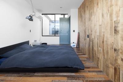 ベッドルーム (渋谷の住宅)