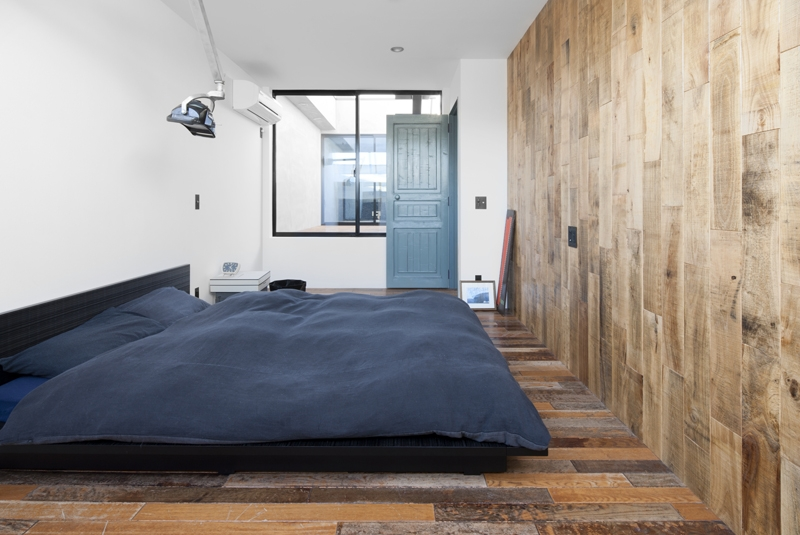 渋谷の住宅 (ベッドルーム)
