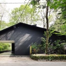 018軽井沢Cさんの家 (外観)