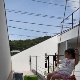 大船の住宅-屋上