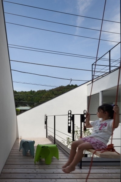 屋上 (大船の住宅)