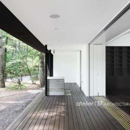 018軽井沢Cさんの家 (テラス)