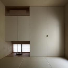 緑陰を愉しむ家 (和室)