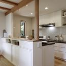 緑陰を愉しむ家の写真 キッチン