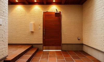 玄関ポーチ|中百舌鳥の家