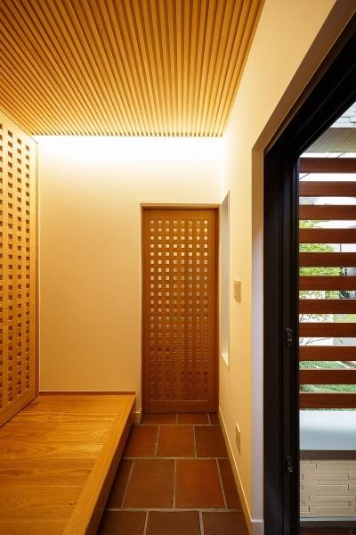 中百舌鳥の家 (玄関ホール)