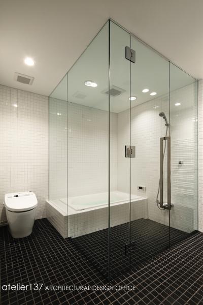 バスルーム (018軽井沢Cさんの家)