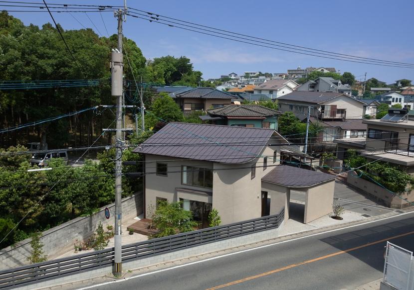 友丘の家 (外観|鳥瞰)