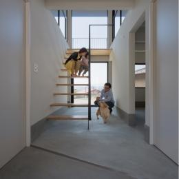 碧の家 (玄関ホール)