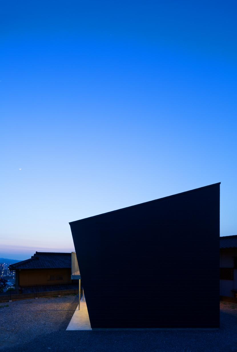 碧の家の部屋 外観|夜景
