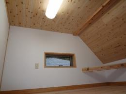 家族のための大空間と蔵のある家 (2階ロフト)