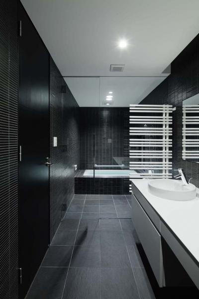 バスルーム (023軽井沢 I さんの家)
