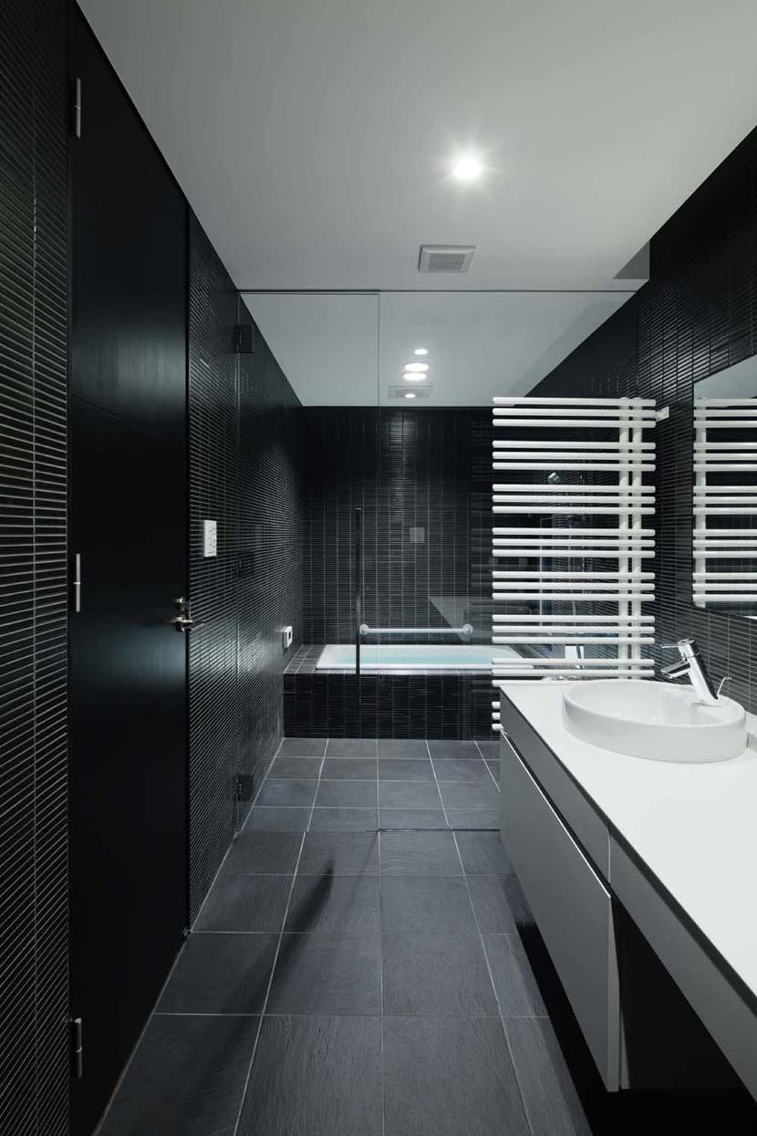 023軽井沢 I さんの家の部屋 バスルーム