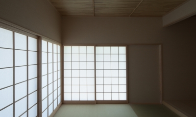 亀川の家 (和室)
