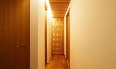 中百舌鳥の家 (廊下)