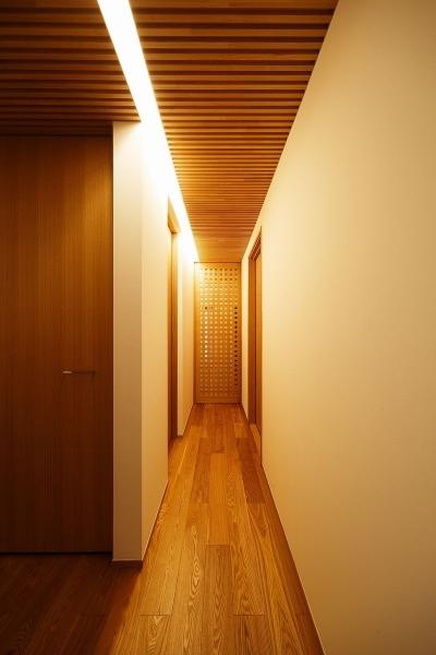 廊下 (中百舌鳥の家)