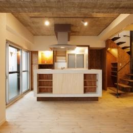 I邸・昭和時代の喫茶店のようないえ