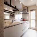SE邸・実家の2階が大変身 大好きなインテリアで楽しく住もうの写真 キッチン