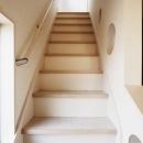 SE邸・実家の2階が大変身 大好きなインテリアで楽しく住もうの写真 階段