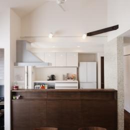 SE邸・実家の2階が大変身 大好きなインテリアで楽しく住もう (LDK)