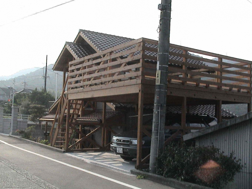 建築家:由比清隆/アトリエ・K建築設計工房/山口「子供の五感を育む家」