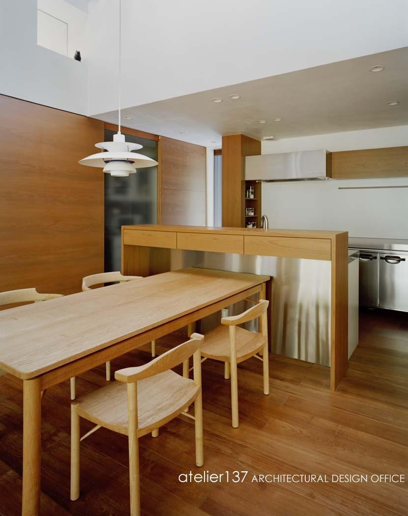 015軽井沢Tさんの家の部屋 キッチン