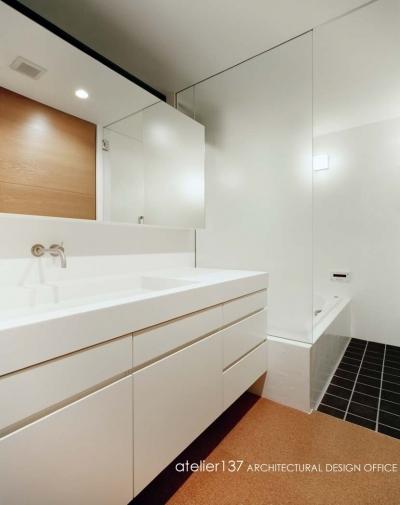 バスルーム (015軽井沢Tさんの家)