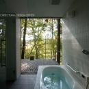 010軽井沢Tさんの家の写真 浴室