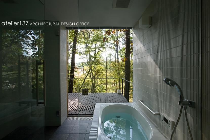 010軽井沢Tさんの家の部屋 浴室