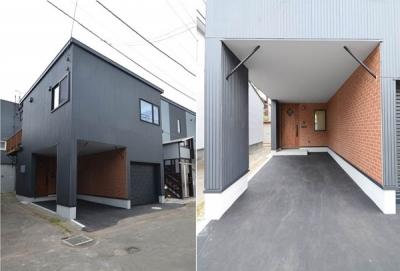 敷地30坪のリノベーション (外観)