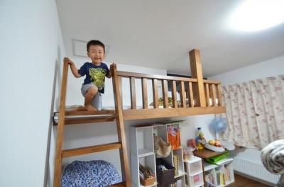 敷地30坪のリノベーション (子供部屋)