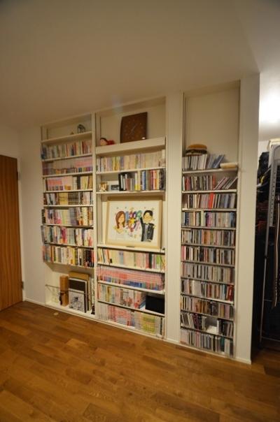 敷地30坪のリノベーション (寝室)