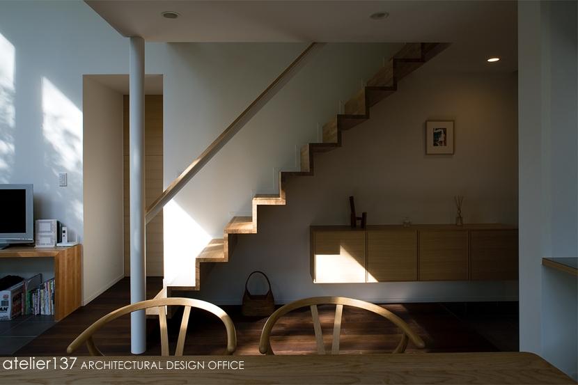 010軽井沢Tさんの家の部屋 階段