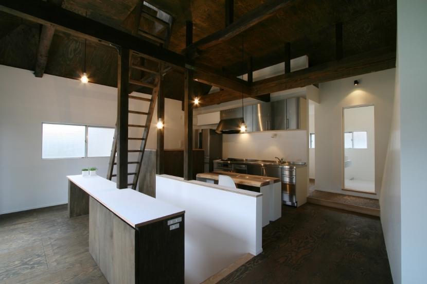 ヒカリノカタチの部屋 2F_ダイニングキッチン