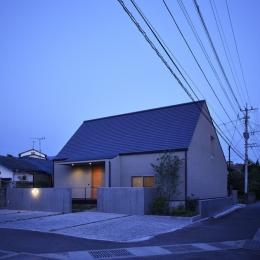北側外観 (Umi house)