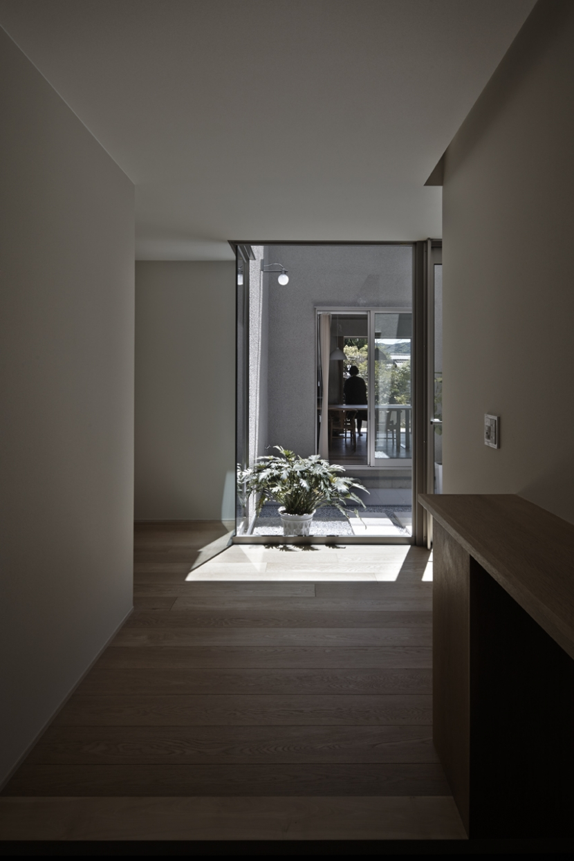 Umi house (玄関)