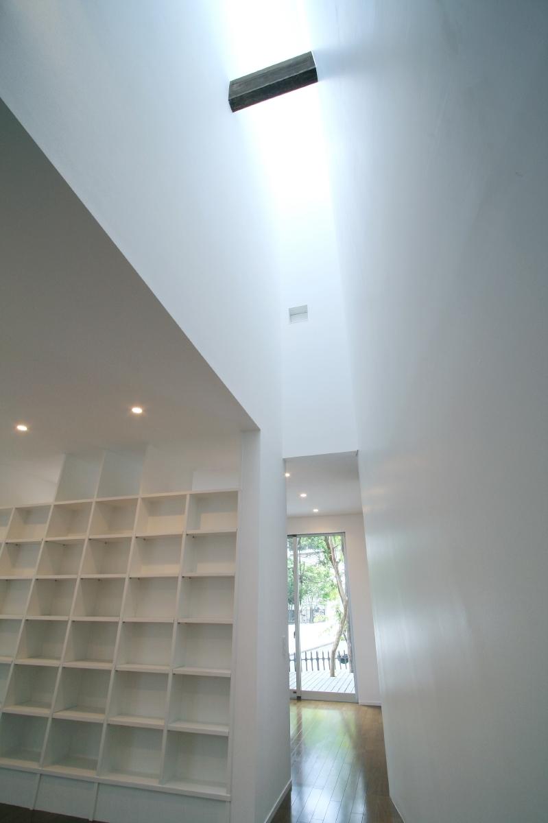 ヒカリノカタチの部屋 1F_LDK_ライトウェル(光井戸)