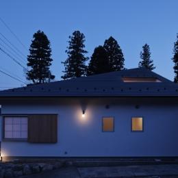 外観 (Shigaraki house)