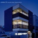 011船橋Kさんの家の写真 外観夕景