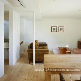 011船橋Kさんの家 (リビング)