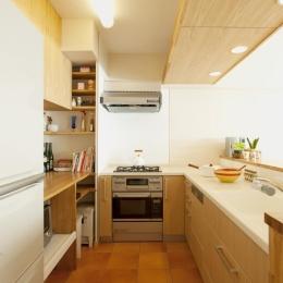 キッチン (T邸・休日はおうちカフェで・・・)